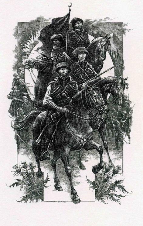 Книжная графика Романа Писарева (98 работ)