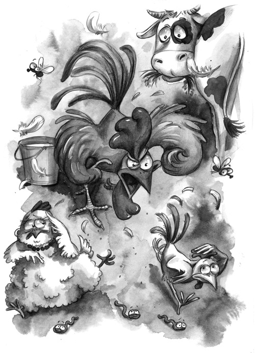 Художник-иллюстратор Ерёмина Любовь (61 работ)