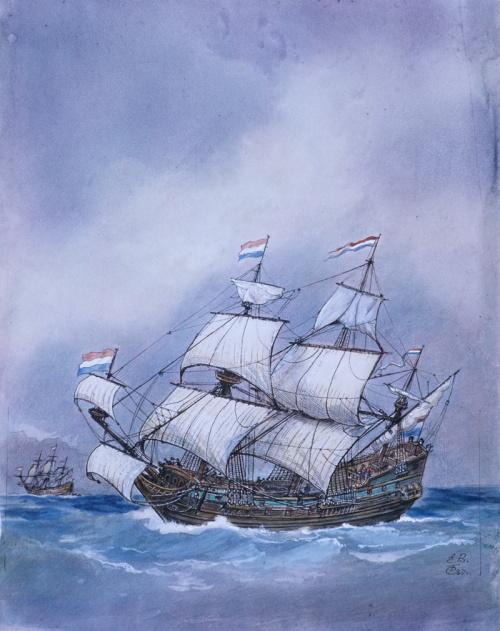 Корабли от художников (102 работ)