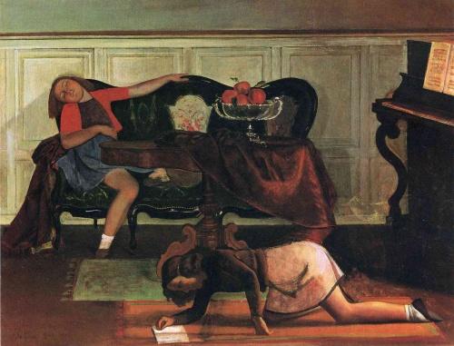 Бальтус | XXe | Balthus (191 работ)