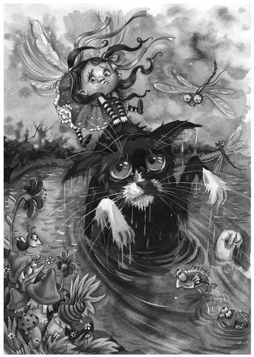 Иллюстрации Любы Ереминой (77 работ)