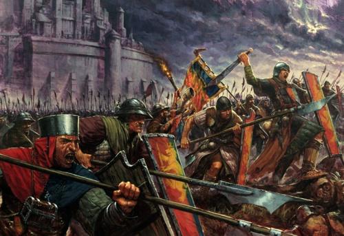 Карл Копински (Karl Kopinski)-иллюстратор миров Warhammer (126 работ)