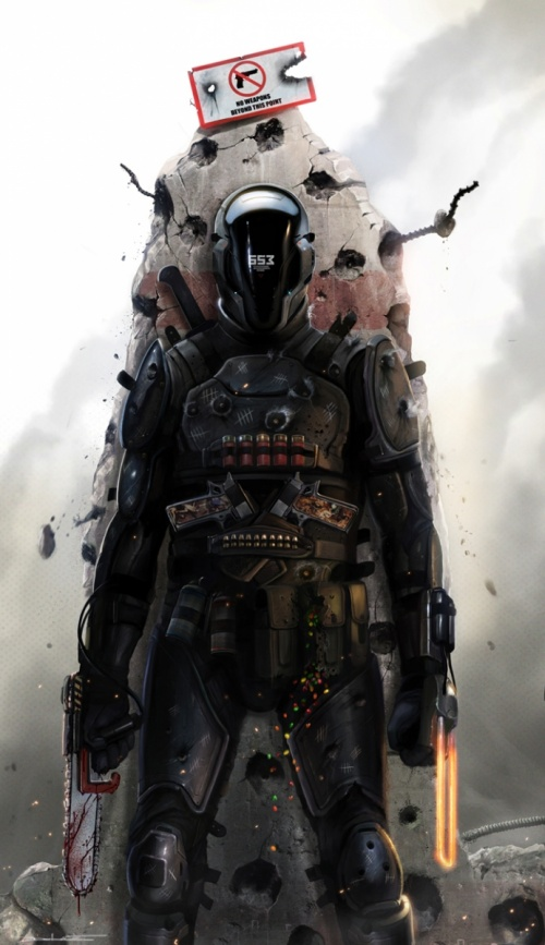 Last Man Standing: Killbook of a Bounty Hunter (43 работ)