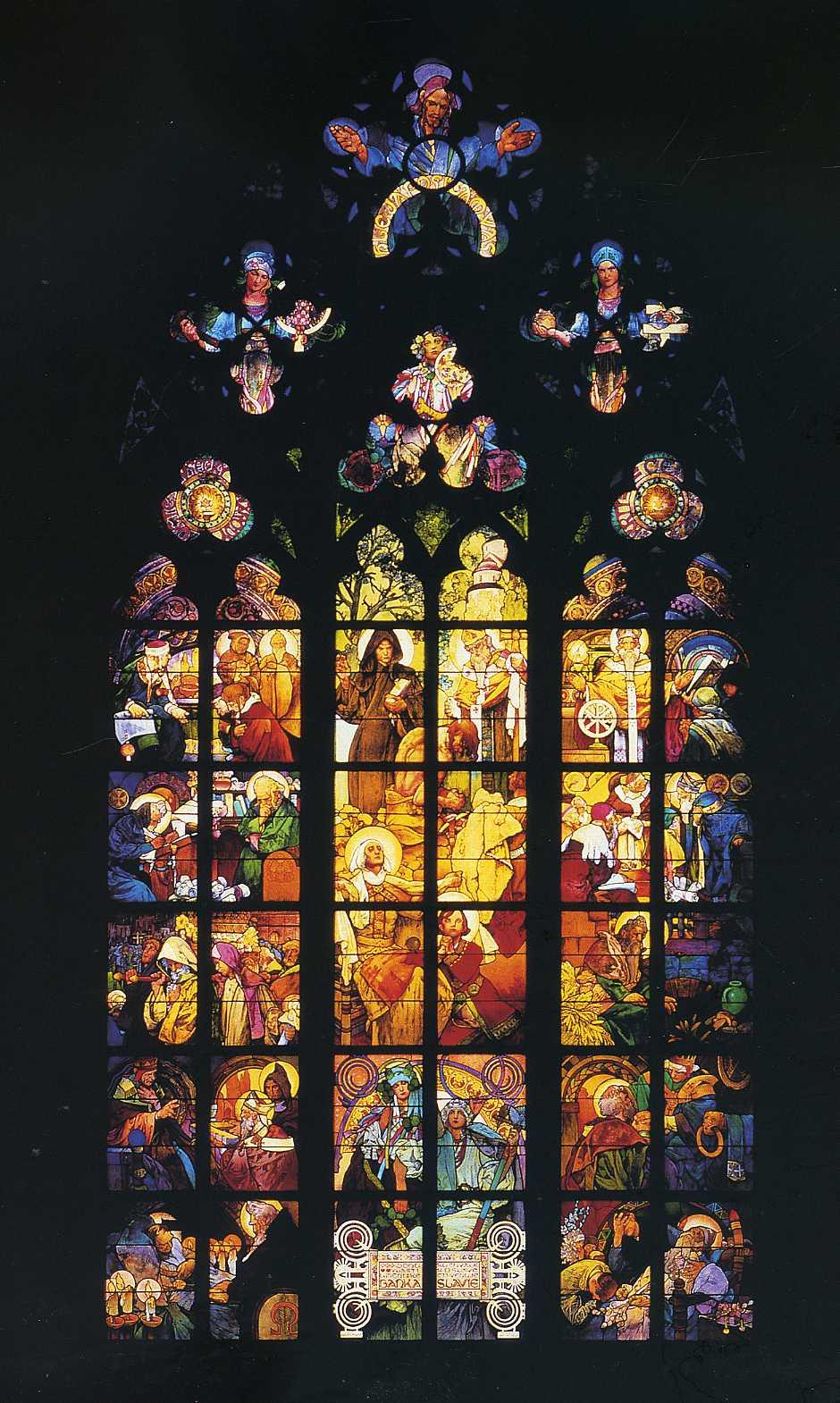 Мозаика, Фреска, Ветраж - Репродукции