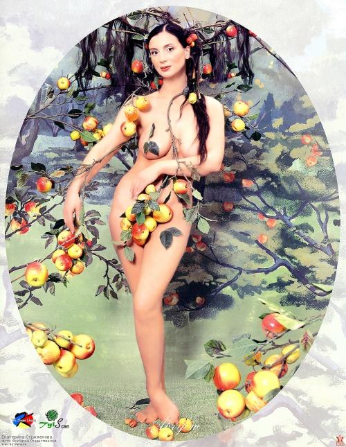 Екатерина Рождественская – Календарь (12 фото) (эротика)