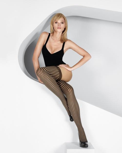 Польская модель Anna Tokarska - Wolford Lingerie & Fashion Spring/Summer 2009 (171 фото)