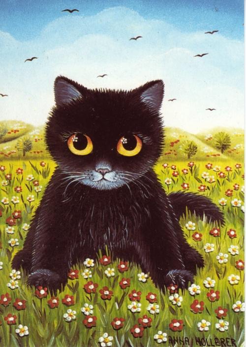 Финский художник Anna Hollerer (54 работ)