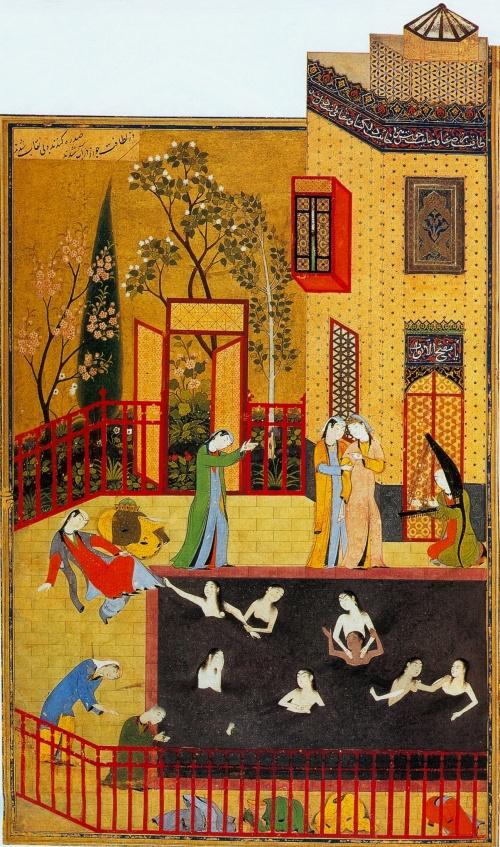 Кемаледдин Бехзад (ок. 1455 - 1535/1536, Персия) (20 работ)