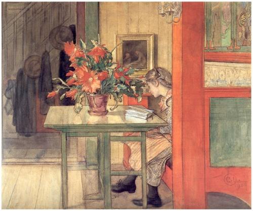 Карл Ларссон   XIX-XXe   Carl Larsson (215 работ)