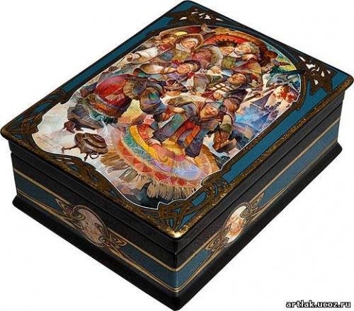 Лаковая миниатюра Михаила Шелухина (65 работ)