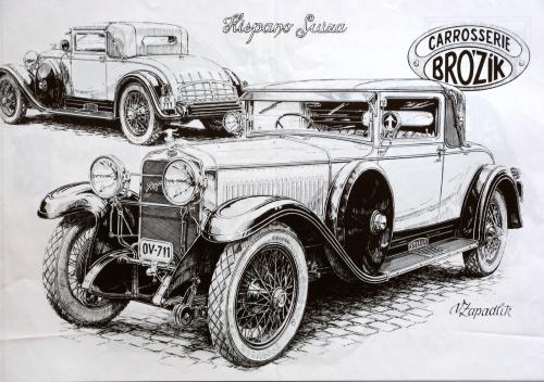 Раритетные автомобили (56 фото)