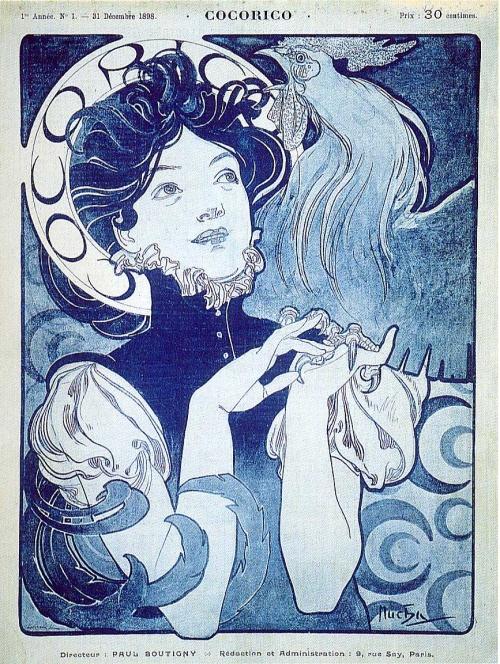 Художник Alphonse Maria Mucha (190 работ)