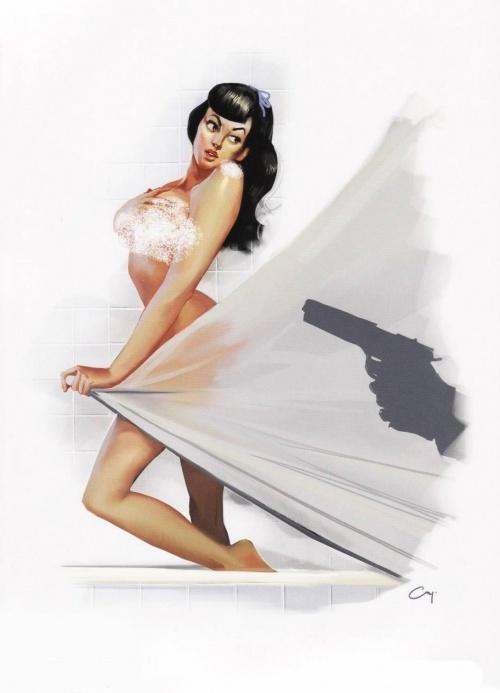 Pin-Up Calendar 2010 of Mafia II (24 работ)