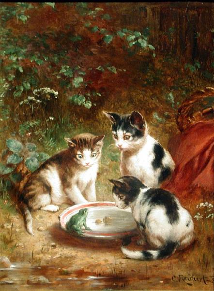 Художник Carl Reichert (Austrian, 1836-1918) (50 работ)