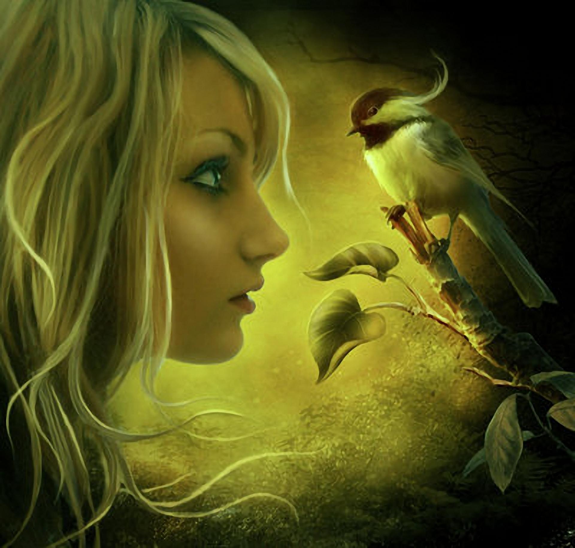 Сказочные девушки на аву для девушек