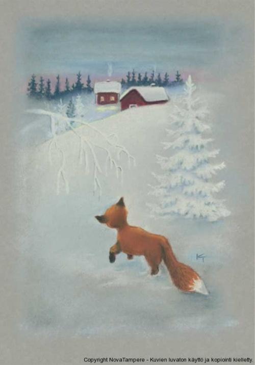 Детский иллюстратор Kaarina Toivanen (Финляндия) (127 работ)