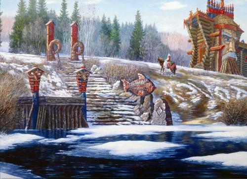 Русские и советские художники. Часть 15 (131 работ)