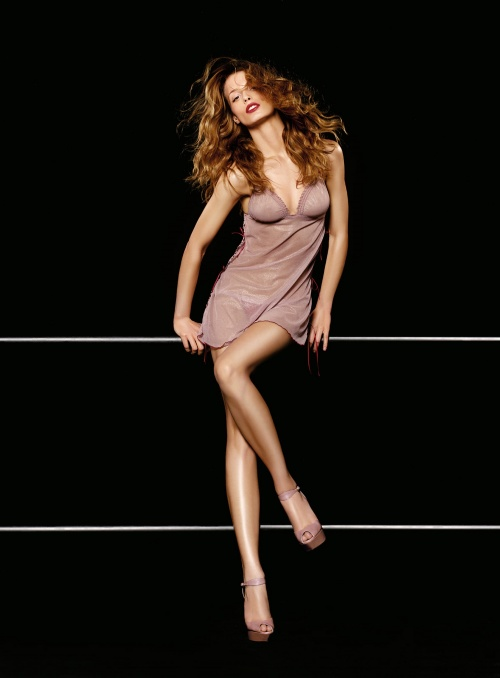 Бразильская модель Flavia Lucini – Verdissima High Seduction Lingerie Collection 2010 (13 фото)
