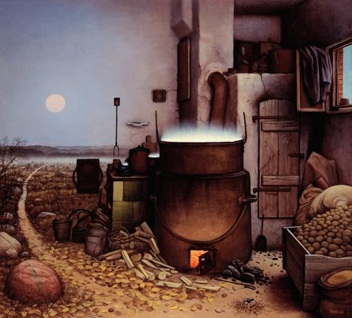 Jacek Yerka (Сюрреализм) (21 работ)