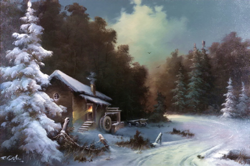 Гарин Евгений - художник-маринист (17 работ)