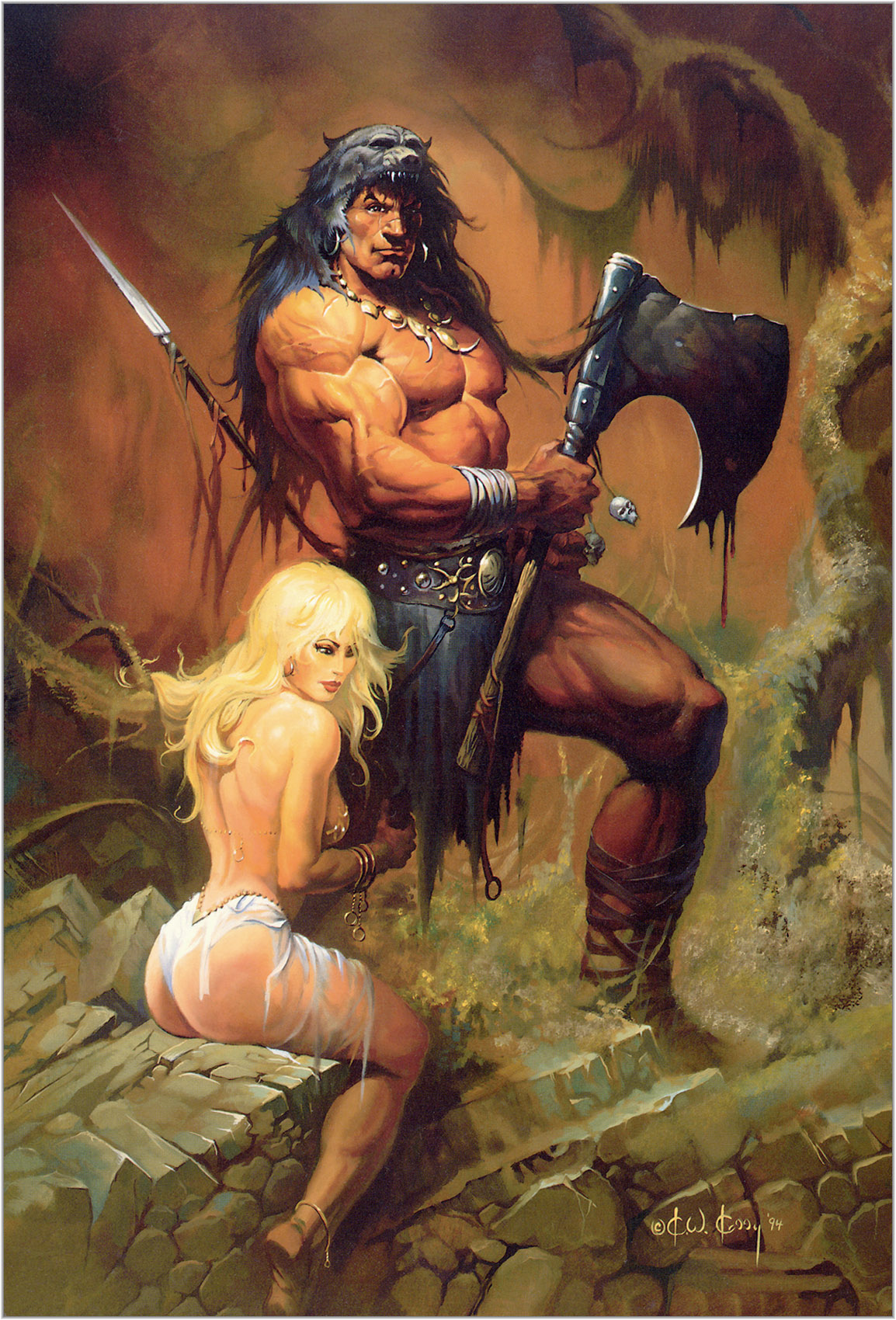Barbarian sex picture hentai scene