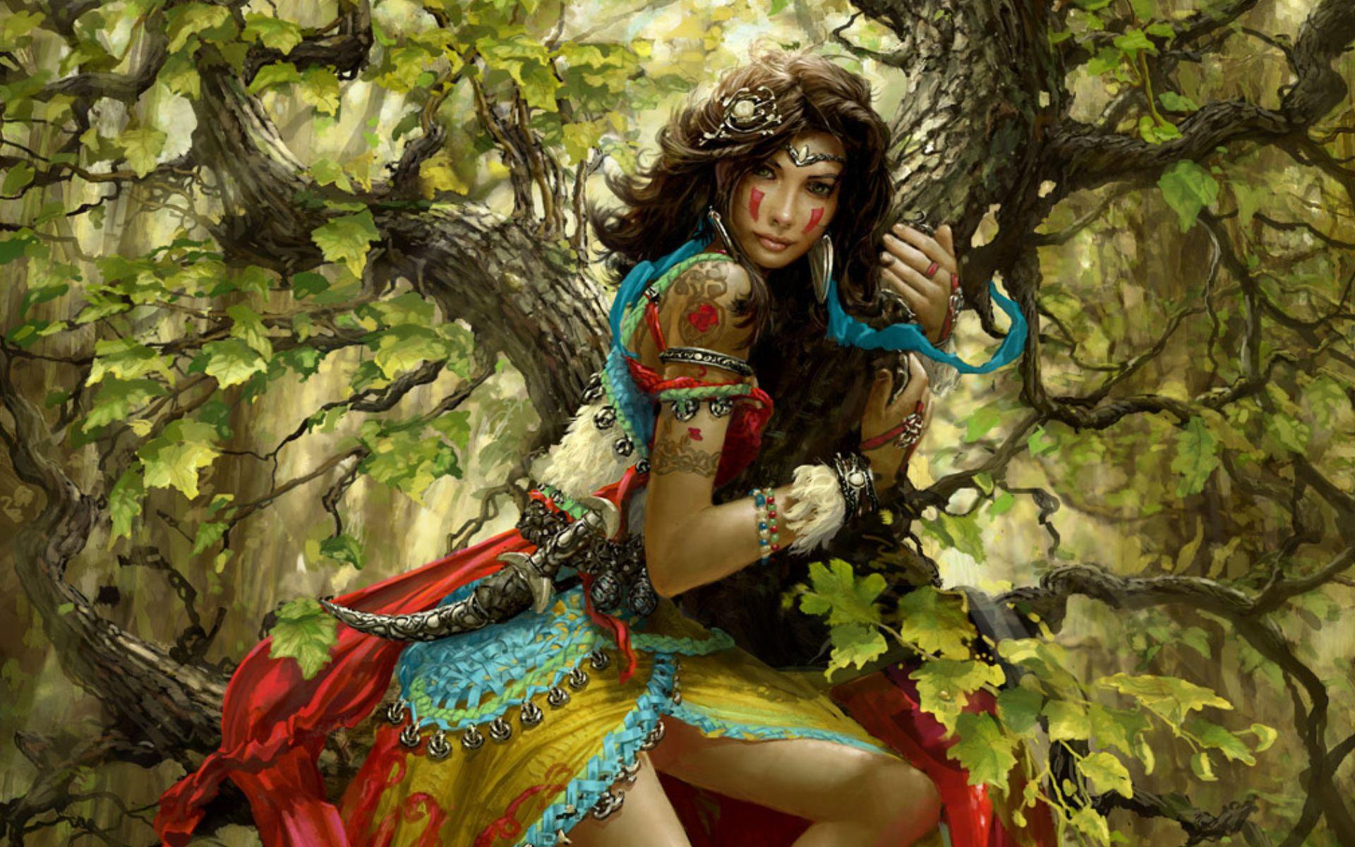 Erotic fantasy babe art hentia scenes