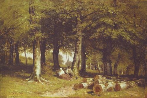 Картины художника Шишкина (51 работ)