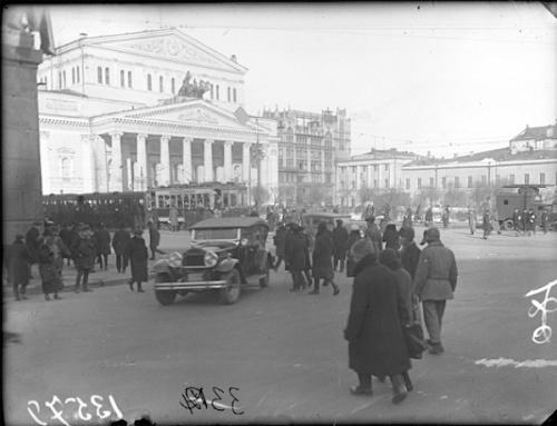 Москва, что было - что есть (107 фото)