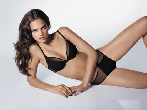 Бразильская модель Lisalla Montenegro - Wolford Spring/Summer, 2010 Lingerie Photoshoot (73 фото)