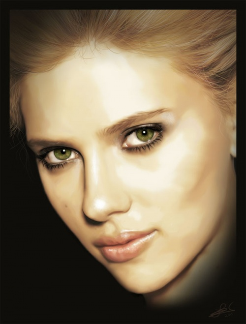 Amazing Digital Painting Portraits (241 работ)
