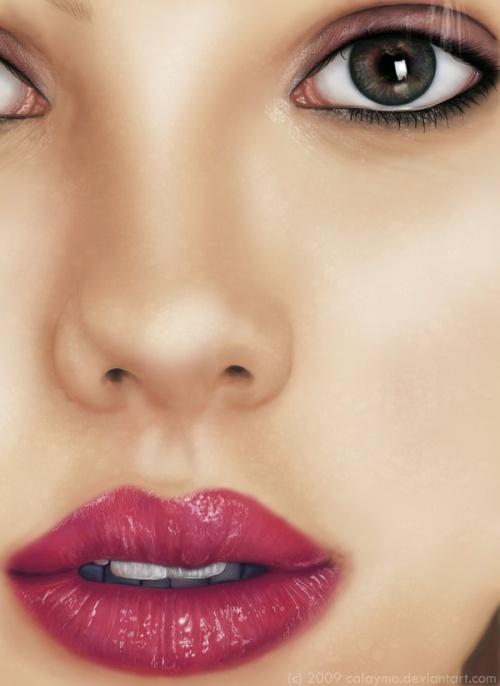 Amazing Digital Painting Portraits (241 работ)