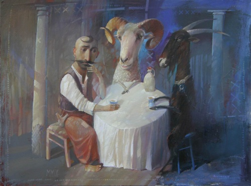 Художник Александр Антонюк (67 работ)