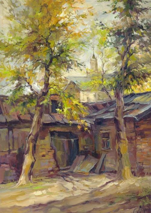 Полнейшее собрание пейзажей Анны Чариной (327 работ)