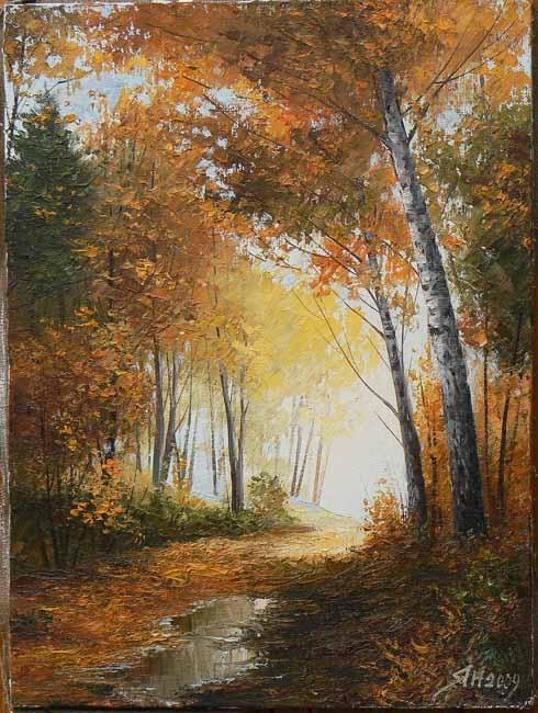 Пейзажи Янулевича Геннадия (119 работ)
