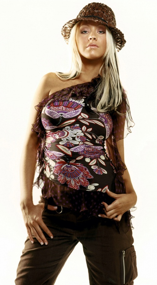 Christina Aguilera - Mark Abrahams Photoshoot for Marie Claire, 2003 (10 фото)