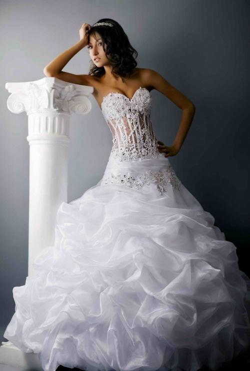 Коллекция свадебных платьев (600 фото)