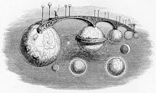 J. J. Grandville (часть 1). Un Autre Monde (1844) (62 работ)