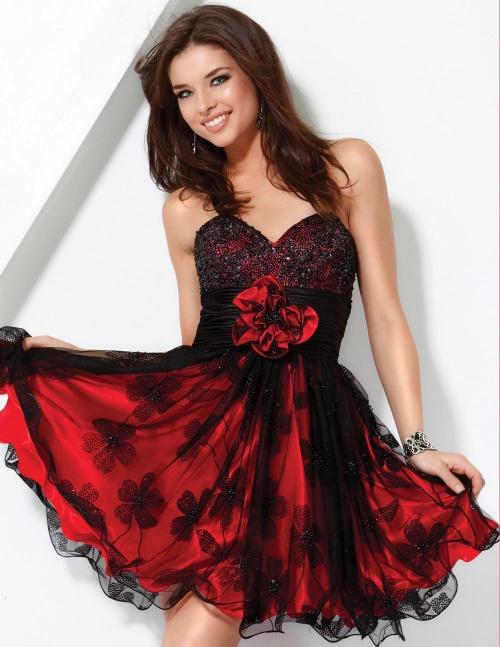 Фото красивых платьев для девушек короткие