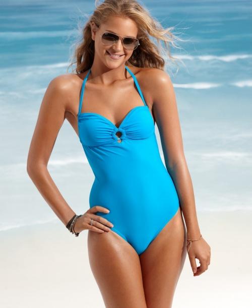 Израильская модель Esti Ginzburg - bikini photoshoot (9 фото) (эротика)