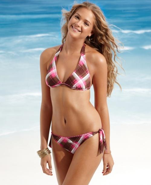 Израильская модель Esti Ginzburg - bikini photoshoot (9 фото)