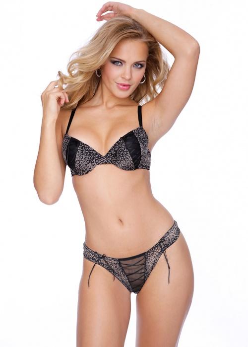 Бразильская модель Elisandra Tomacheski - BonPrix Sexy Lingerie Photoshoot (43 фото) (эротика)