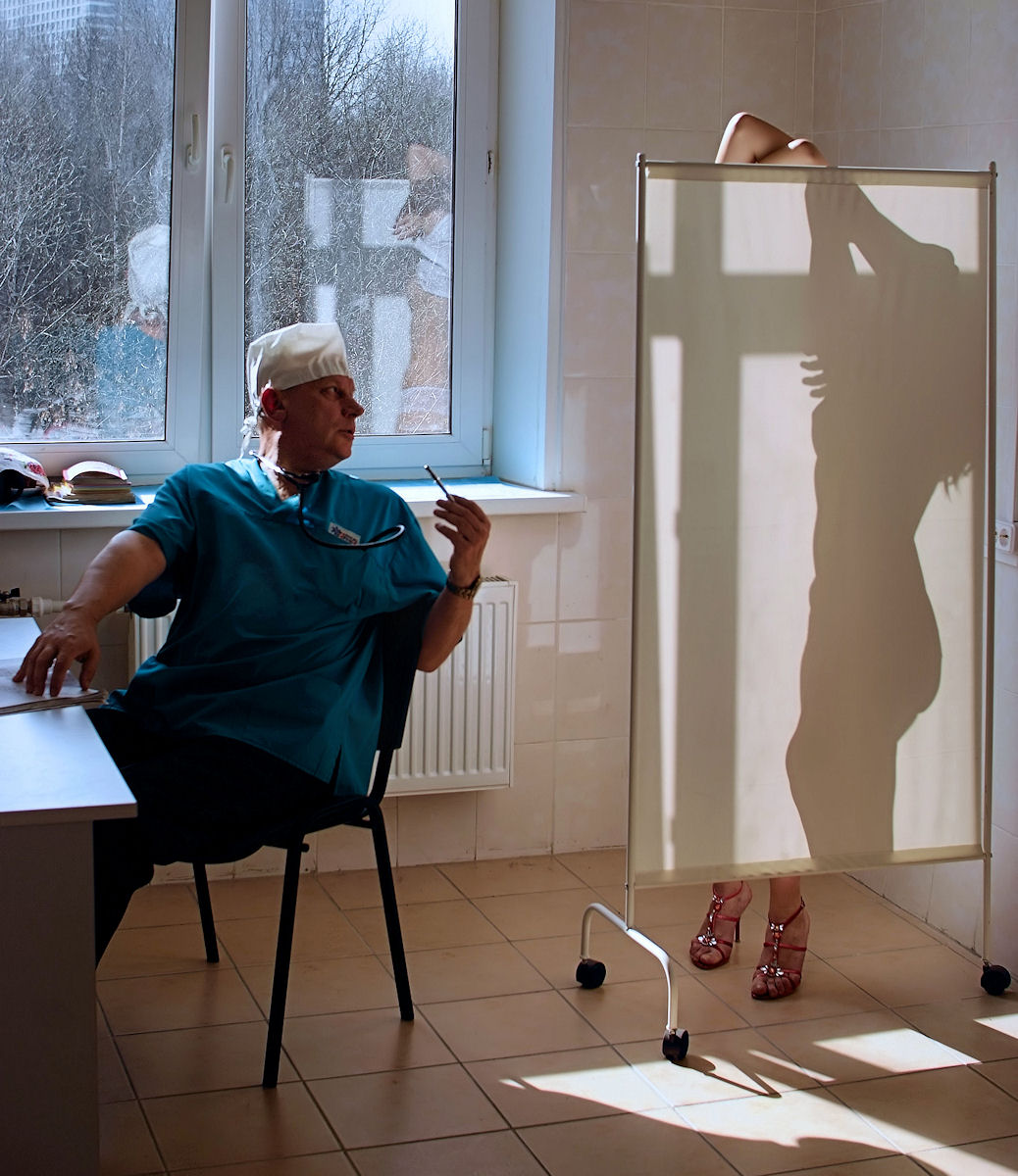 У гинеколога по русски 21 фотография