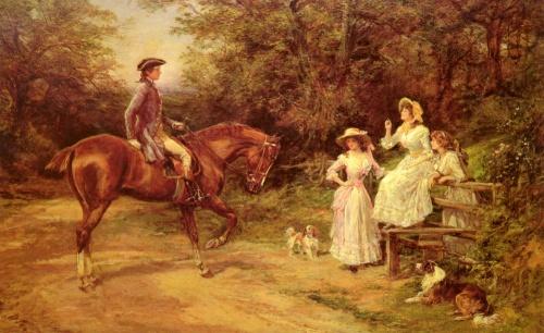 Английский художник Heywood Hardy (143 работ)