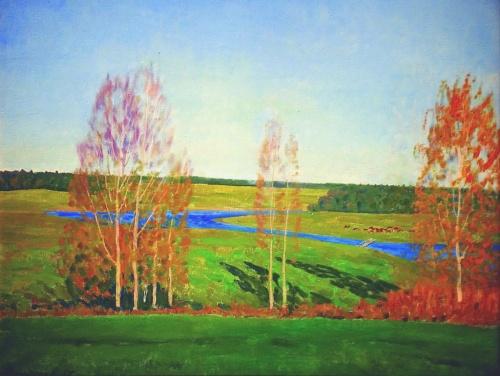 Русские и советские художники. Часть 33 (работ)