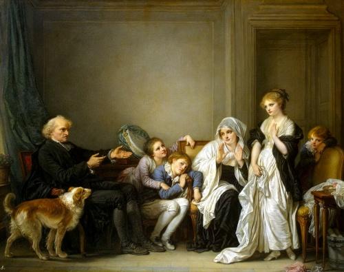 Жан-Батист Грёз (Jean-Baptiste Greuze), (1725-1805) (170 работ)