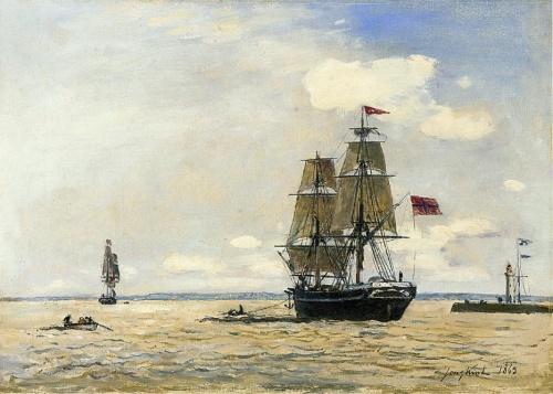 Johan Barthold Jongkind (41 работ)