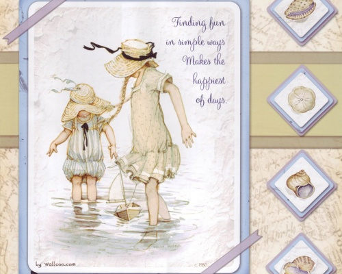 Открытки Holly Hobbie (19 открыток)