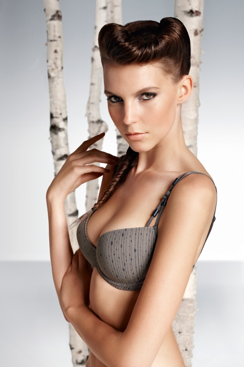Jennifer Massaux Marie Jo LAventure Lingerie Collection Spring Summer 2011 (14 фото) (эротика)