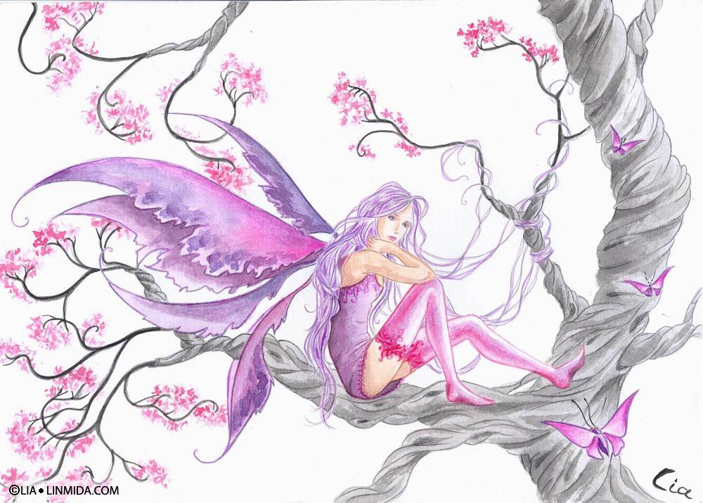 цветные рисунки фей