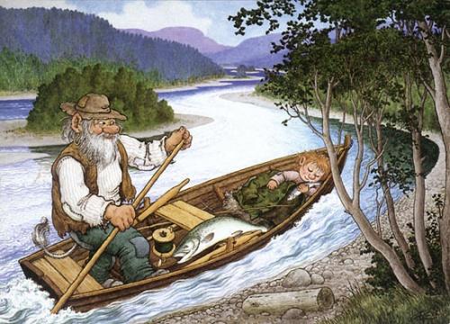 Тролли художника-иллюстратора Rolf Lidberg (66 работ)
